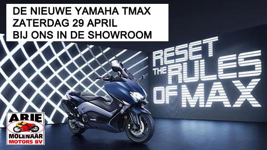 Landelijke introductie nieuwe Yamaha TMAX
